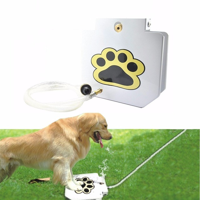 dog pet water fountain dispenser water automatic pet feeder outdoor