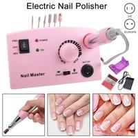 Electric Nail Drill Machine Kit 35000 RPM Nail Cutter Bit File Manicure Pedicure Tools Set MSI 19