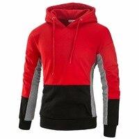 Fashion Men S Sweatshirts Winter Hoodies Men Sudaderas Hombre Hip Hop Mens Hoodie Decorative Pocket Patchwork