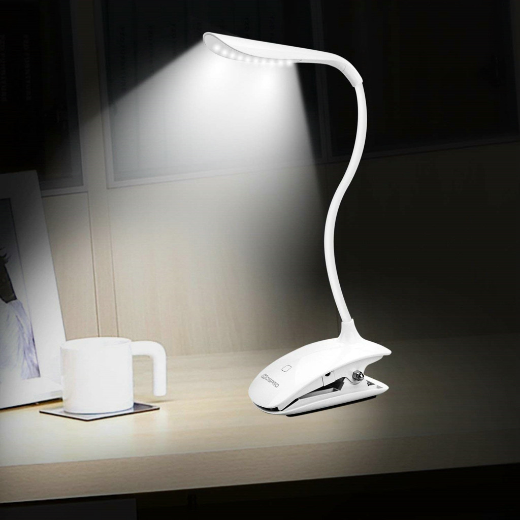 Lights & Lighting Book Light Reading Light Flexible Desk Reading Lamp With Switch 3 Levels Brightness Eye-care Perfect For Bookworms & Kidsl0926