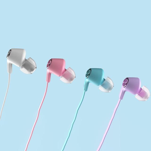 Original Xiaomi Mi Colorful version Earphone Mi 3.5MM In-Ear Wired Control With MIC for Huawei Xiaomi Mi Redmi Smartphon Audio Audio Electronics Electronics Head phone Headphones & Headsets color: Black|Blue|Purple|SLIVER|Pink