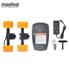 Maxfind Wereld Lichtste Remote DIY Elektrische Skateboard Kit met Enkele Hub Motor 600 W voor Volwassen en Kinderen