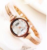 Fashion Rose Gold Bracelet Fringed Women Watches Luxury Brand Ladies Quartz Watch Wrist Watch Relogio Feminino