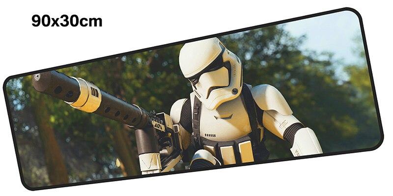 Star Wars коврик для мыши computador gamer mause pad 900x300X4 мм padmouse большой лично ...