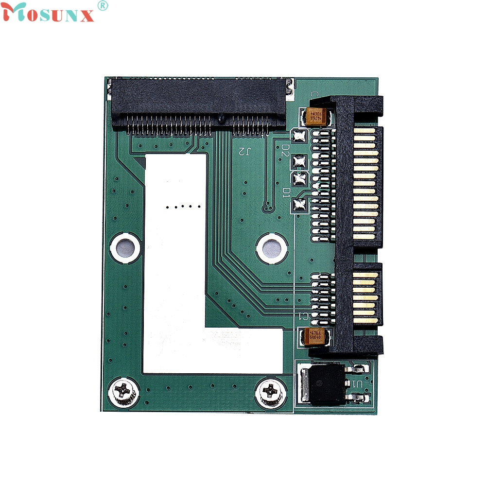 Mosunx Factory Price mSATA SSD To 2.5Inch SATA 6.0 Gps Adapter Converter Card  60316