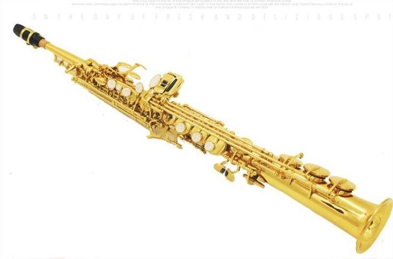 Japon Yanagisawa S-991 BB plat saxophone Soprano un tube saxophone électrophorèse or niveau débutant playin avec étui