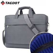 Waterproof  Laptop bag 17.3 17 15.6 15 14 inch Business Men Computer bags Fashion Handbags Women Shoulder Notebook bag