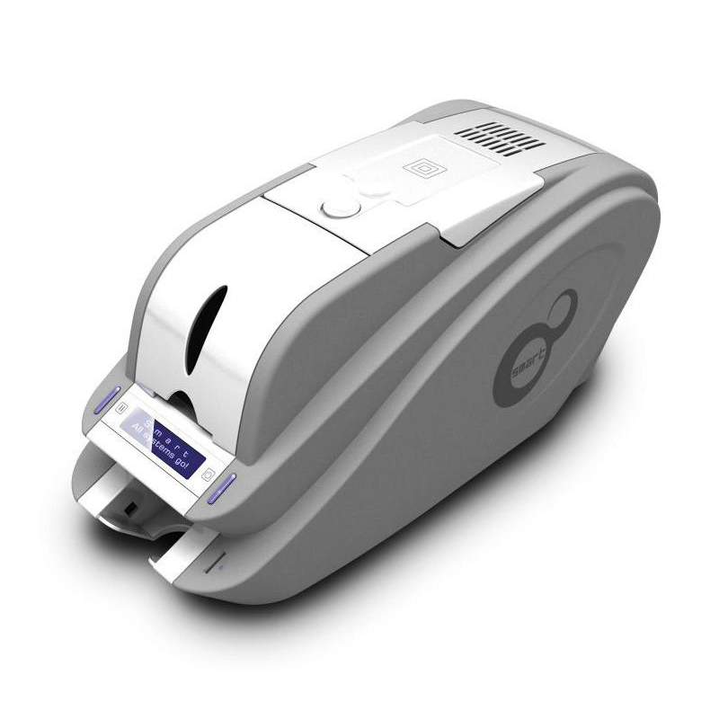 IDP Smart single PVC ID card printers 50S with 1 roll color ribbon