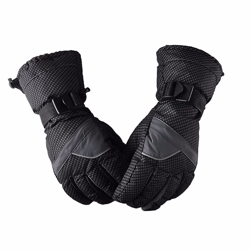 Feiyu Men Women Waterproof Windproof Ski Gloves Winter Warm Thick Glove Outdoor Sports Riding Skating Skiing Accessories