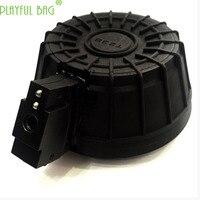 Outdoor sport STD small moon AK47 bullet drums water bullet refit accessories bring original factory magazine.3D printing II10
