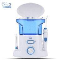 Gustala 600ml Portable Oral Irrigator Dental Water Flosser Oral Floss Dental Teeth Care Dental Irrigator Floss