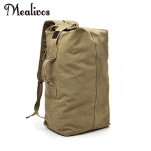 Mealivos Huge Travel Bag Large Capacity Men backpack Canvas Weekend Bags Multifunctional Travel Bags vintage canvas travel zipper bag men hand luggage 2018 new canvas weekend travel men multifunctional travel large capacity bags