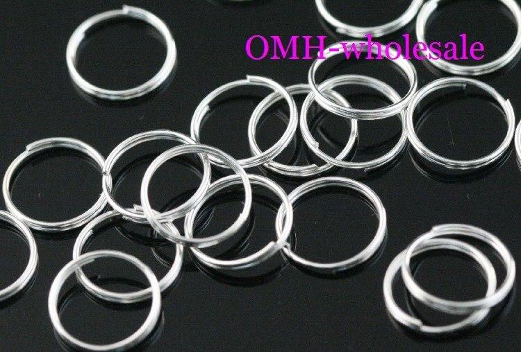 OMH WHOLESALE 9mm 550 unids Joyería de los accesorios de BRICOLAJE círculo de Pl