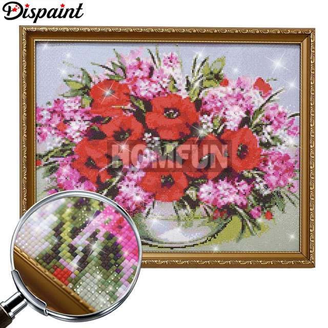 """Dispaint Full Square/Round Drill 5D DIY Diamond Painting """"Animal horse"""" Embroidery Cross Stitch 3D Home Decor A10946"""
