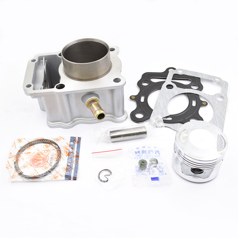 цена на Motorcycle Cylinder Piston Ring Gasket Kit for LIFAN CG150 LF162MJ CG175 LF162MK CG200 LF163ML CG250 LF167MM Water-cooled