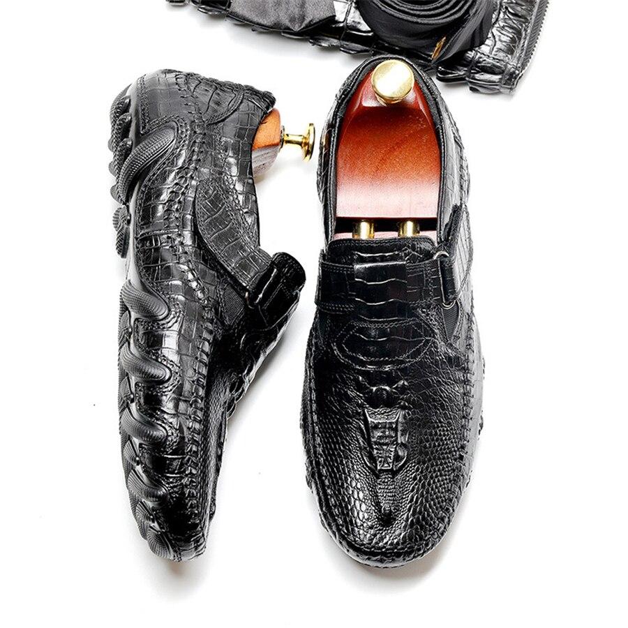 Robe Slip Sur Bureau En Dressing D'affaires Hombre Chaussures Hommes Red Formelle Black Cuir Mâle Pour De wine Zapatos Mariage Oxford nfCAIO