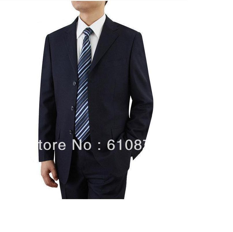 Men Plus Size Spring Solid Blazer Slim Three Button Pop Suit Male Autumn Oversized Full Sleeve Slim Suit Top + Pants Man Suits