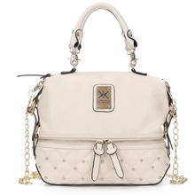2017  New  Pu Leather Bags Handbags Women Famous Brands Big Women Crossbody Bag Trunk Tote Designer Shoulder Bag   LJ-0626 cow leather bags handbags women famous brands big women crossbody bag tote designer shoulder bag ladies large bolsos mujer white