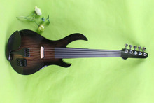 4/4 Electric Violin massivholz 20–28 # blau farbe gitarre hals 5 string
