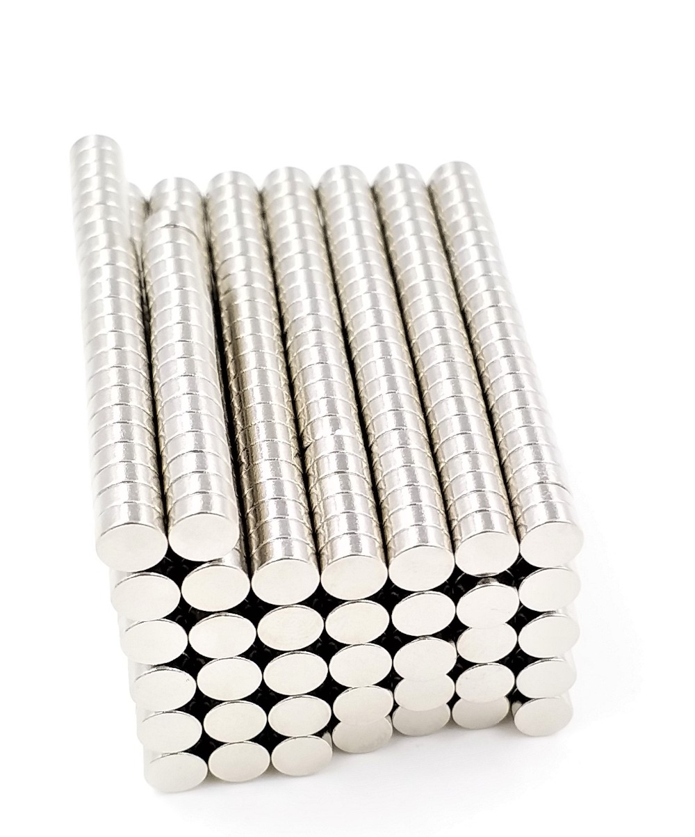 """20 Neodymium magnets N52 Super Strong Rare Earth 1//2/"""" x 1//8/"""" Perfect For Craft"""