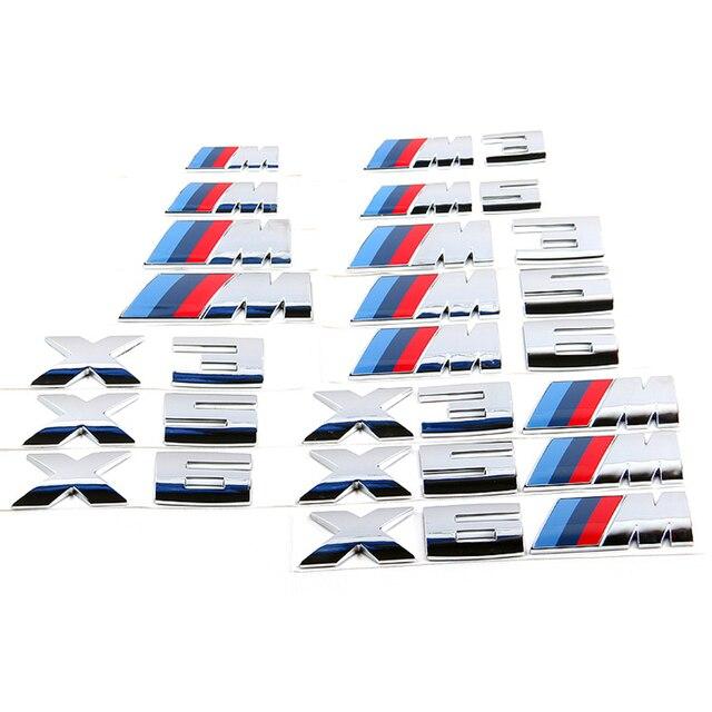 High Quality M Emblem Badge Stickers For Bmw M X1 E84 X3 F25 E83 X5