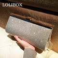 Women Evening Clutch Bags Fabrics Sequins Women Handbags Silver Bride Wedding Party Purse And Handbag Crossbody Bags For Women
