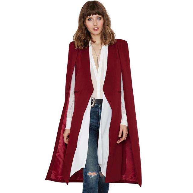 2017 Autumn – Spring Fashion Poncho 3 Colors