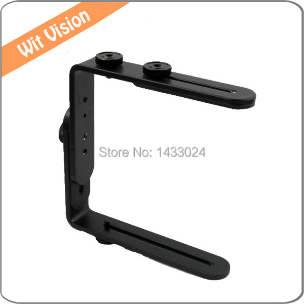 Double L Flash Supports Multi-Angle Réglable Pour Canon Sony Pentax Caméra