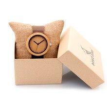 BOBO BIRD Womens Watch Top Brand Luxury 2016 Ladies Wood Wary Famous Brand Quartz Bamboo Watches in Gift Box D18-1