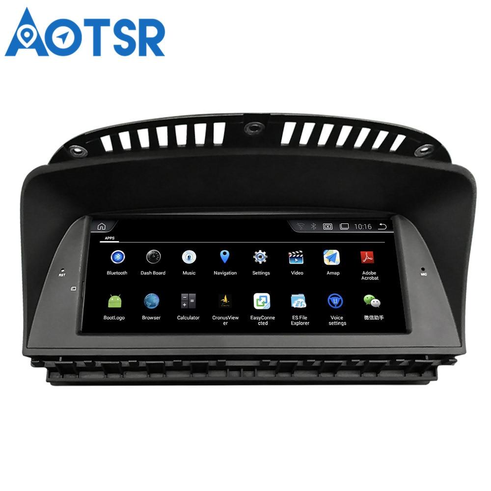 Aotsr Android 4.4 voiture GPS Navigation pas de lecteur DVD Headunit pour BMW série 7 E66 (2005-2009) 1 Din Radio multimédia stéréo