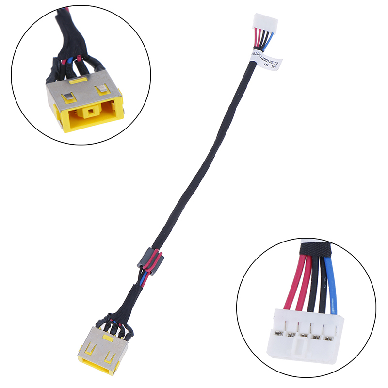 DC Power Jack Socket Harness Cable Fit For Lenovo G500S G505S VILG1 DC30100PC00