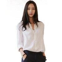 2018 New Blusas Cotton Long Sleeved Women S Plaid Shirt Flannel Blouses Feminina Chemise Femme Camisas