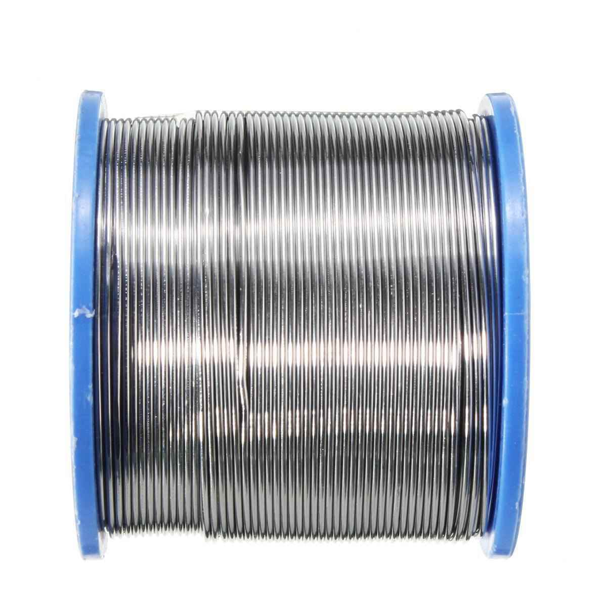0.5/0.7/1mm 60/40 fluxo 2.0% 500g estanho chumbo solda fio fusão rosin núcleo solda fio de solda rolo