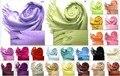 Оптовая Торговля Розничная Торговля Мода Китайских женщин Кашемир Шарф Пашмины Шерсти Шали Обруча Многоцветный Бесплатная Доставка