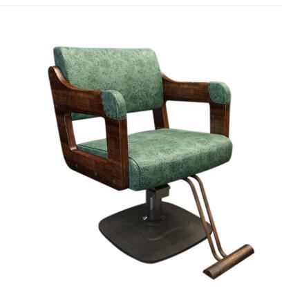 Ehrgeizig Holz Salon Stuhl Friseur Gewidmet Haar Stuhl High-end Friseursalon Stuhl Holz Hot Färben Stuhl Elegante Form Friseurstühle
