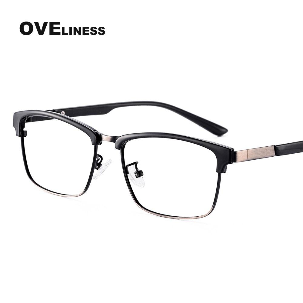 Retro Vintage Metal optical glasses men myopia eye glasses frames Fashion eyeglasses Prescription eyewear Reading glasses frame