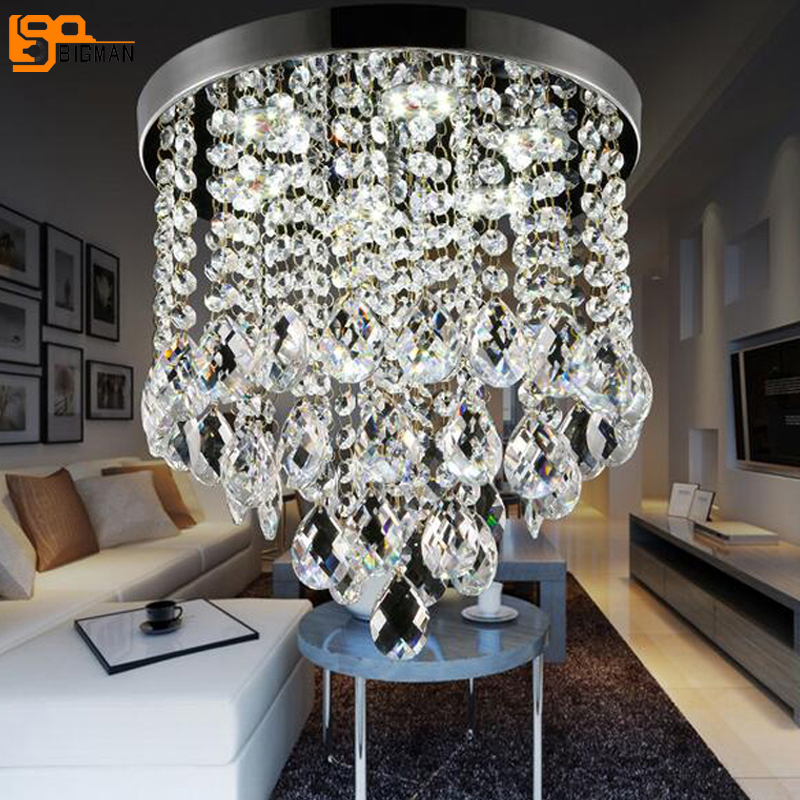 new Luxury Crystal Chandelier Living Room Lamp gold/chrome lustres indoor Lights Crystal ceiling for Chandeliers Free shipping european crystal chandelier living room decoration home lighting luxury glass chandeliers hotel hanging lights indoor wall lamp