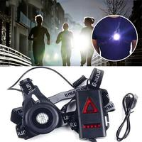 EYCI Safety Warning Night Waterproof Lamps Running Jogging Chest LED Light Flashlight