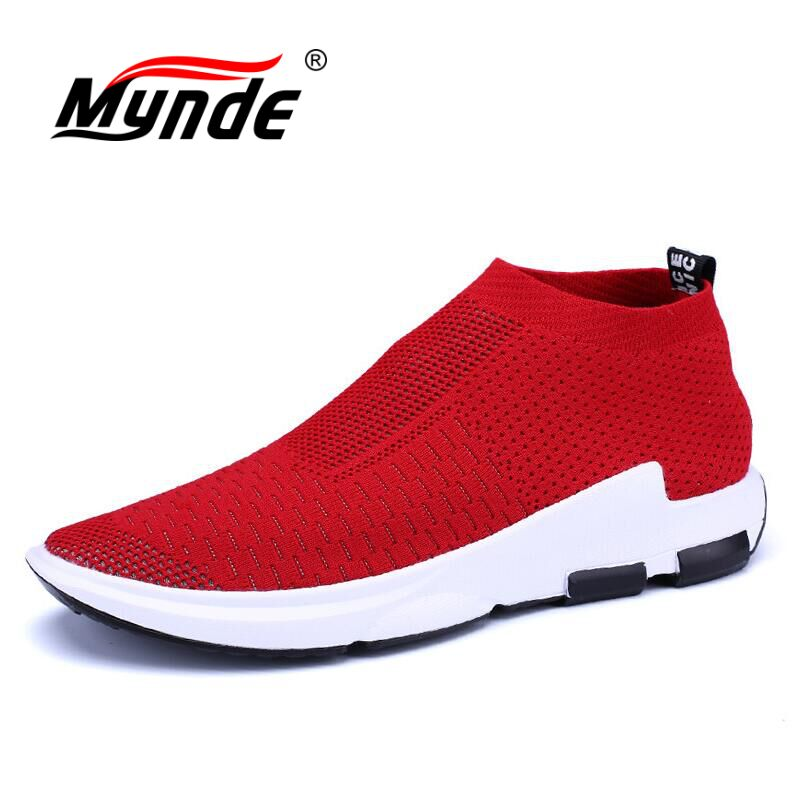 MYNDE Brand Men Sports Running Shoes Outdoor Breathable Comfortable Shoes Lightweight Athletic Sneakers for Men Zapatos Hombre