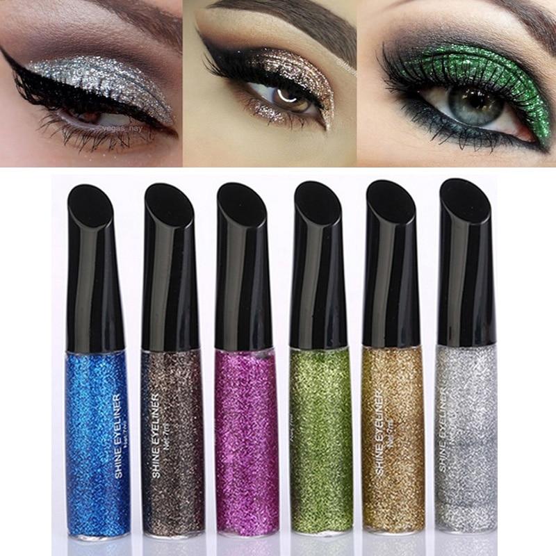 Eye Shadow Popular Brand Givenone Long-lasting Mermaid Dazzling Glitter Powder Eyeshadow Nail Body Art Makeup Palette Easy To Wear Waterproof Reputation First Beauty Essentials