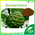 Высокое Качество Sweetsop Extract/Graviola Extract Powder 10:1 300 г