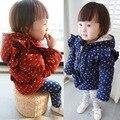 Anlencool 2017 Корейские девушки куртка толстые зимнее пальто сова принцесса ветер пальто ребенок пальто ребенок Дети из одежды пальто младенца
