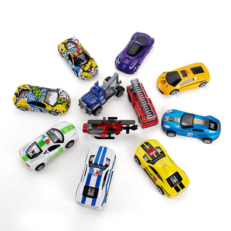 Helicopter Kids Toys Mini Model Super-Car for Children Boy Gifts F3 8-Styles 1:65-Alloy-Pull-Back-Car