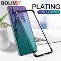 Покрытие телефон силиконовый чехол для Huawei P20 Lite прозрачный P20 Pro мягкая задняя Защитный чехол для Honor 9 Lite 10 8X Max - фото