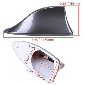 Image 3 - Upgraded Signal Universal Car Shark Fin Antenna Auto Roof FM/AM Radio Aerial Replacement for BMW/Honda/Toyota/Hyundai/Kia/etc