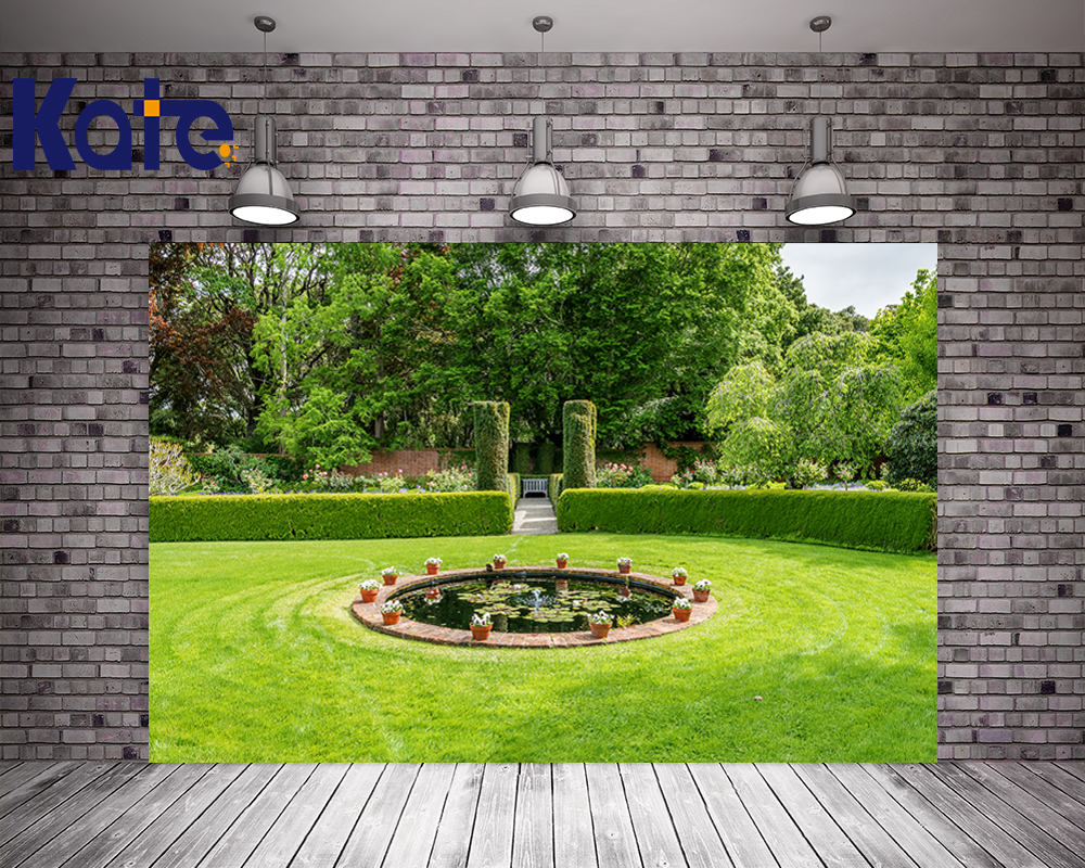 Kate Digital Printing Photo Backdrop All Nature Scenery Backgrounds For Photo Studio Tree Meadow Family Garden For Children kate photo background scenery