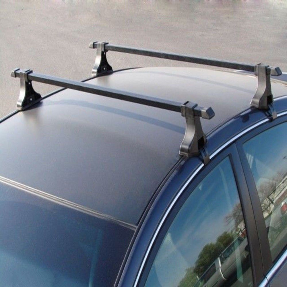 Universal Pair Car Top Luggage Kayak Cargo Cross Bars Roof
