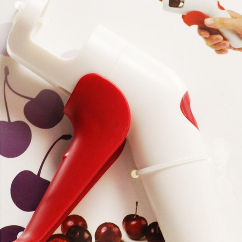 New Nordic Cherries Creative Kitchen Gadgets Tools Pitter Cherry Seed Fast Enucleate Keep Complete Creative Tools
