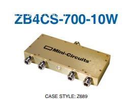 [BELLA] Mini-Circuits ZB4CS-700-10W-N 400-700MHz A Four Divider N