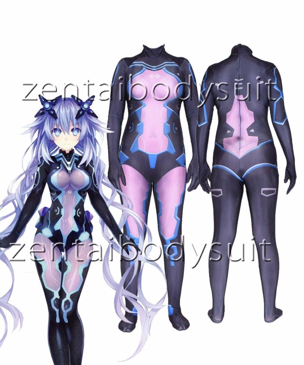 3D Print Anime 3D DARLING in the FRANXX 02 Zero Two Superhero Lycra Zentai Bodysuit Halloween Cosplay Party suit free delivery